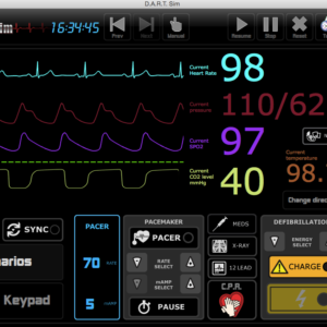 D.A.R.T. ECG Simulator PC/MAC Computer (Download) 2 Licenses