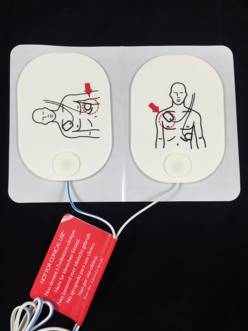 Adult Replacement Defib Training Pads