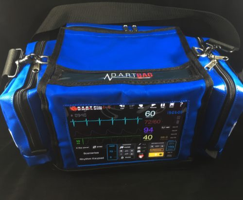 "D.A.R.T. Bag -""Starter Package"" - Windows 10 Tablet or iPad + 1 Set of Pediatric Defib Pads FREE!"